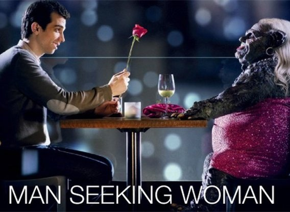 "man seeking woman trailer tinder A month before ""man seeking woman"" returns for its third season, fxx has released a brief new trailer for the comedy watch it below ""man seeking woman"" centers on a 20-something man (jay baruchel) and his strange, sometimes surreal quest for love."